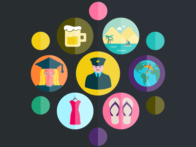 Illustrio customize vector illustrio svg icons series designers collections online service presentations animations