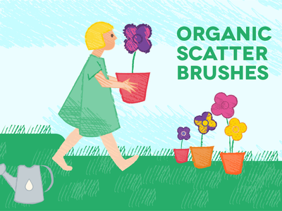 Organic Scatter Brushes