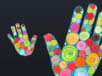 Hands logo draft