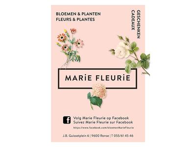 Marie Fleurie Print