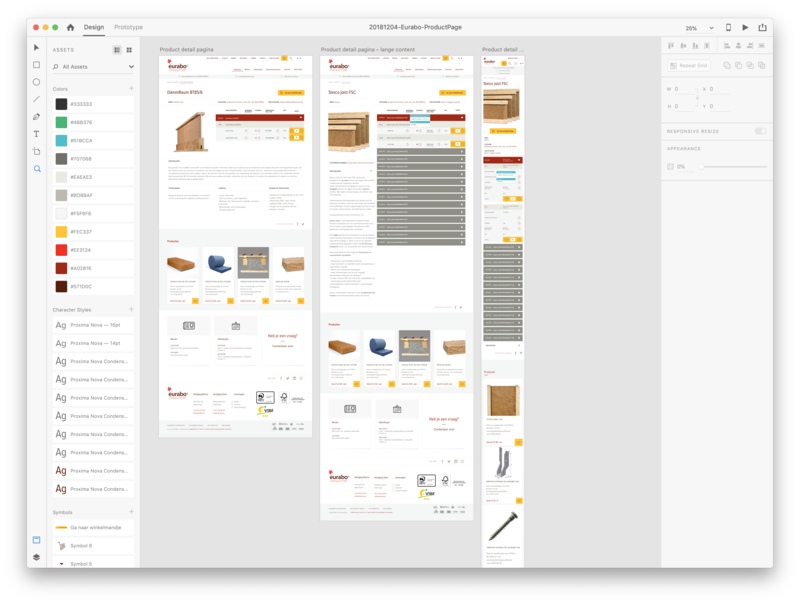 Product page for eurabo.be sustainable product design figma environmental eco wood red ui  ux design ui dashboard ui template hires mockup wireframe mockup product page product interface sketch ux design uidesign adobe xd
