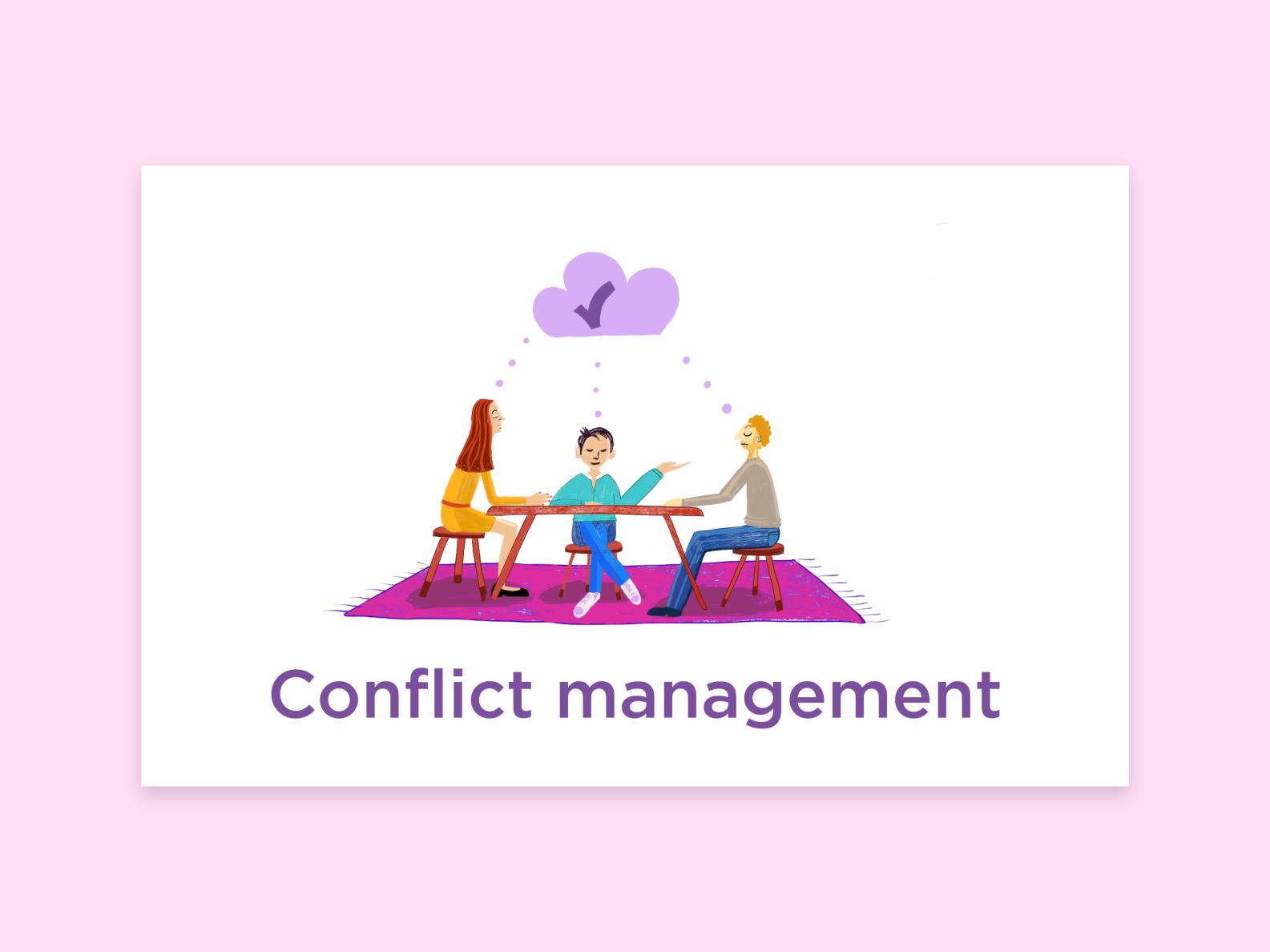 Dribbble   2732x2048   portfolio sophia conflict management