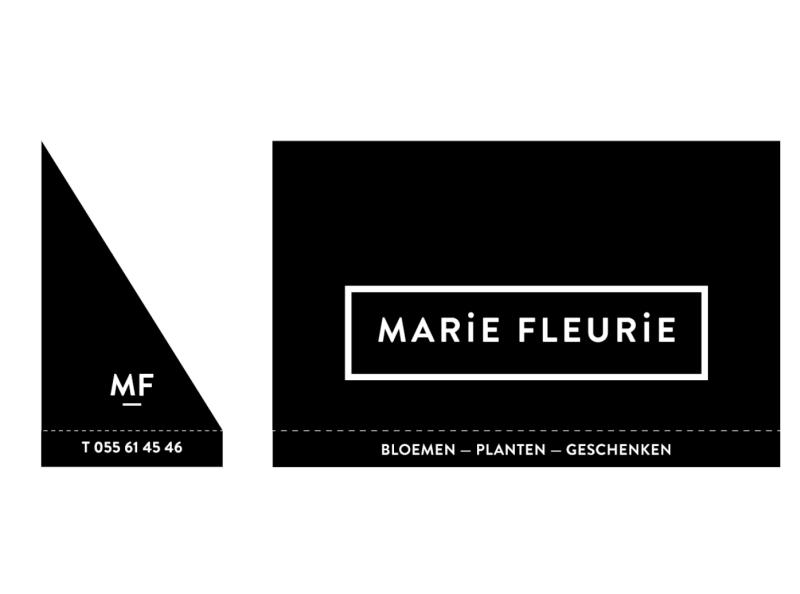 Marie Fleurie branding logo design branding design store design storefront store lettering store gift card gift poster totebag fleur florist flower logo vector typography branding design illustration