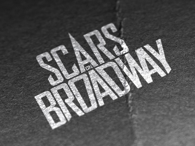 Scars On Broadway Logo logo band branding identity scars on broadway system of a down rock music