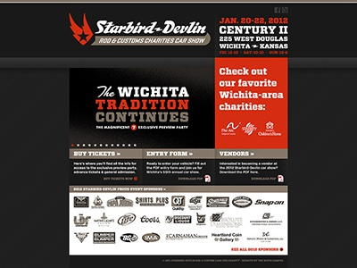 Starbird Devlin Web By Ryan Hendrix Dribbble - Starbird car show wichita