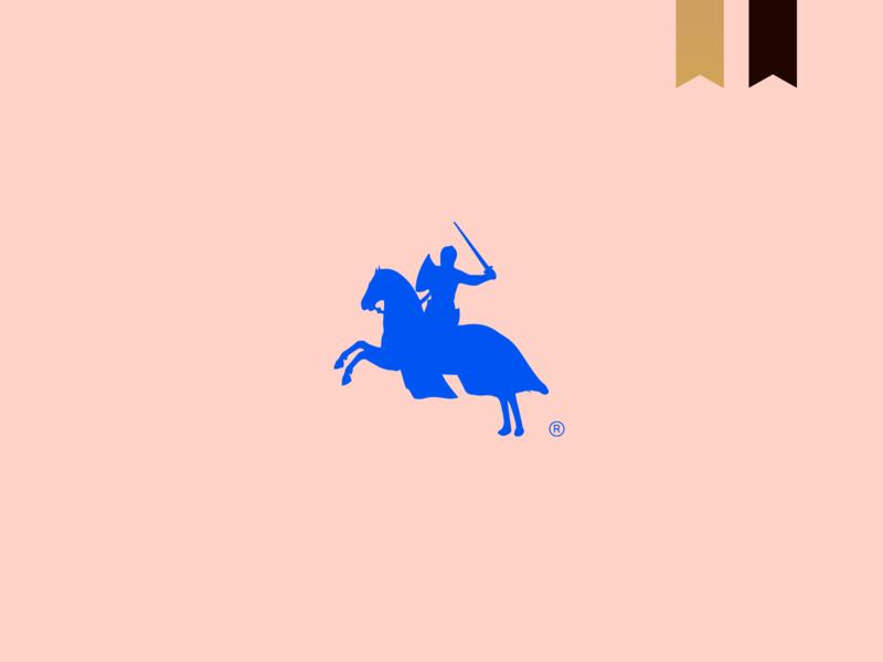 Mr. May - Visual Brand logotype logo abstract minimalism brand design mark brand knight horse