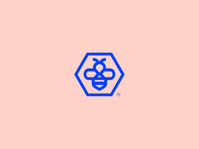 BeeBuddy - Visual Brand minimalism simple brand mark minimalist logo bee bee logo
