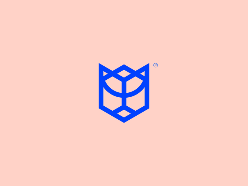 Tanja Grabbe - Visual Brand geometric icon design logotype brand simple mark abstract minimalism logo