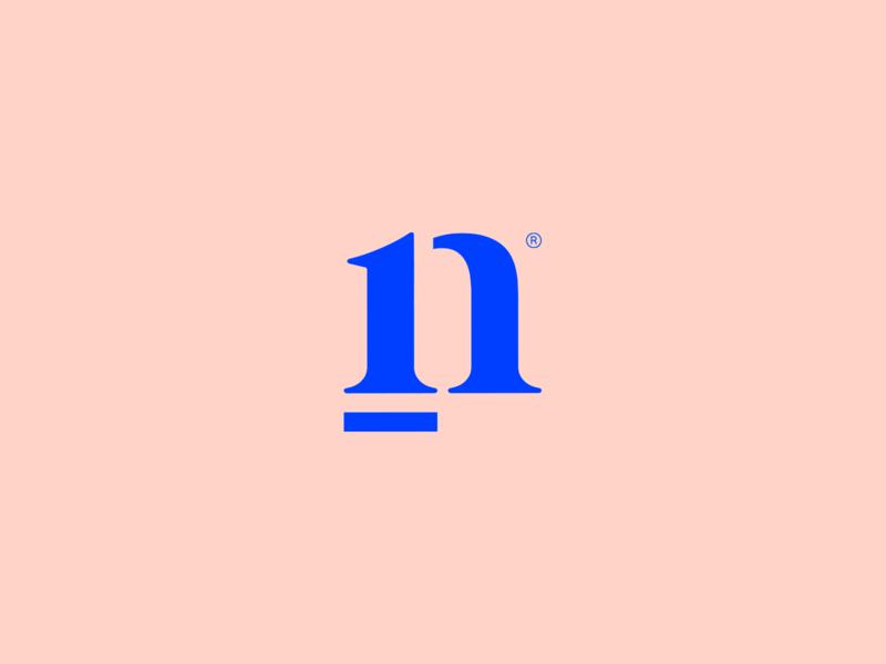 Nasser - Visual Brand icon mark logotype brand simple monogram logo minimalism