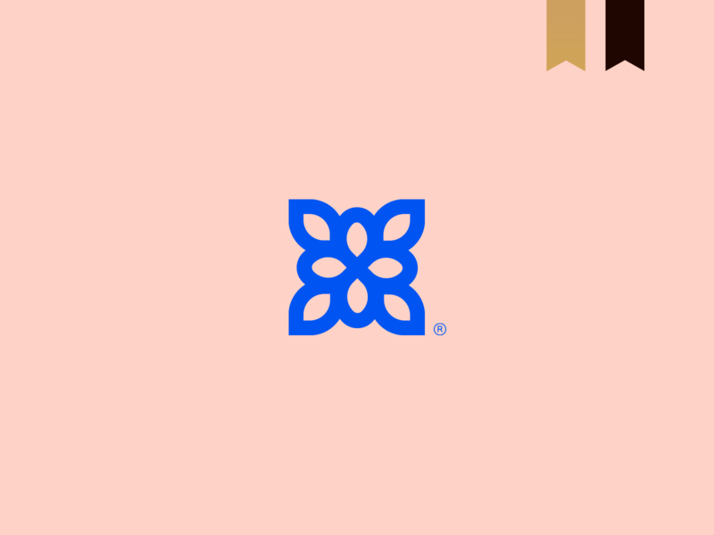 CRO - Visual Brand icon unique design logotype brand simple mark logo abstract minimalism