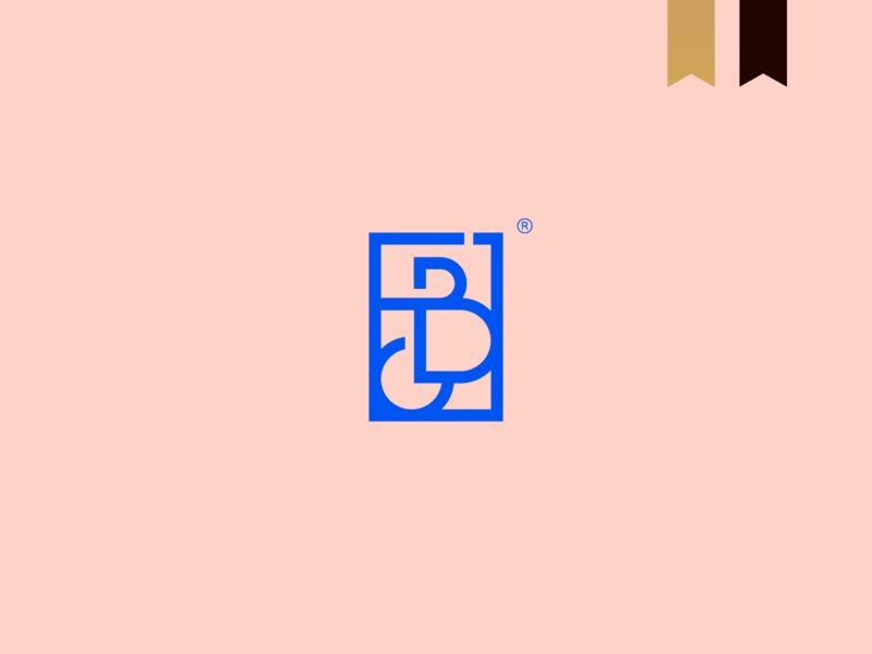 Fernando Cruz - Visual Brand design geometric logo abstract mark brand monogram minimalism minimal