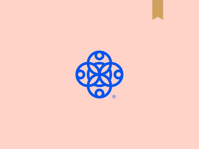 Casanova - Visual Brand geometric icon simple brand logo mark abstract minimalism geometry