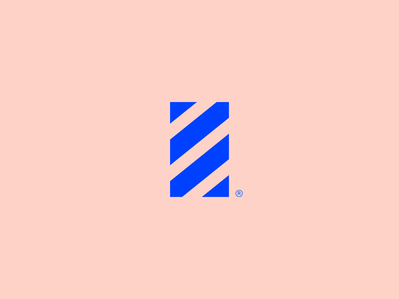 Pascal - Visual Brand geometric gestalt icon logotype logo abstract mark brand simple minimalism
