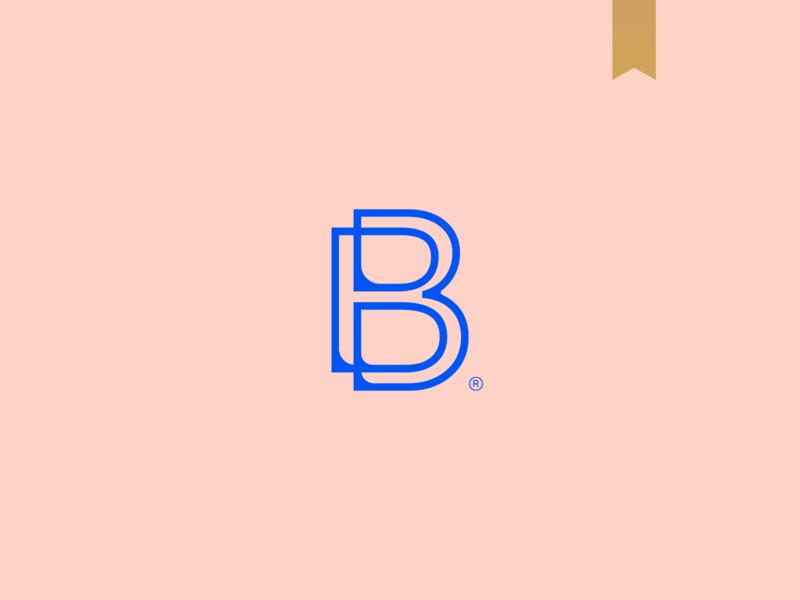 Body By Bartl - Visual Brand icon logo logotype brand mark minimalism monogram