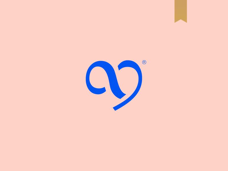 Darly & Allan Fotografia - Visual Brand icon logotype simple brand abstract mark minimalism logo photography logo photography