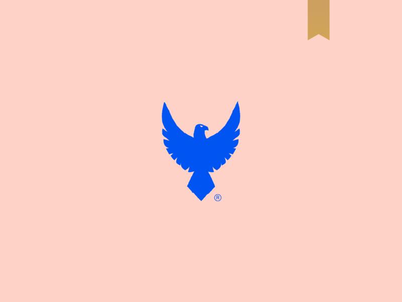Chris Steiner - Visual Brand animal icon brand mark minimalism logo bird logo bird