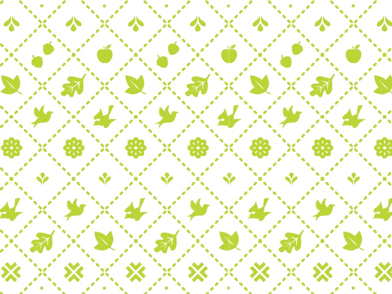 Fall-ish embroidery textile pattern latin american vector nature theme autumn fall