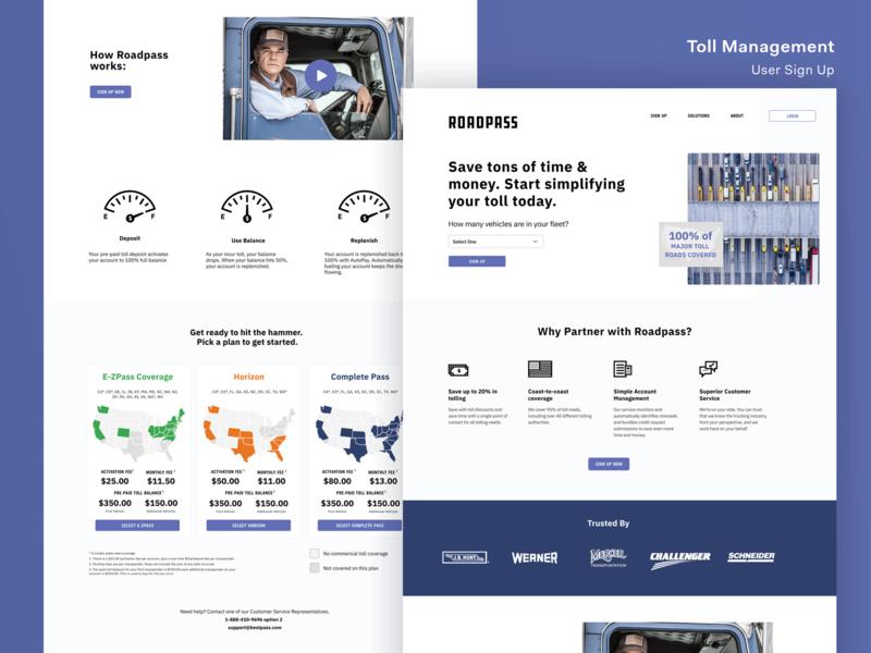 Toll Management Onboarding Flow user interface design user interface onboarding ui onboarding screen onboarding ux ui landing page illustration branding design