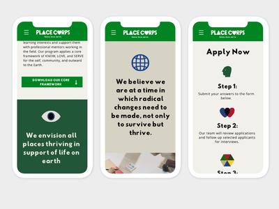 Mobile Web View design website app illustration