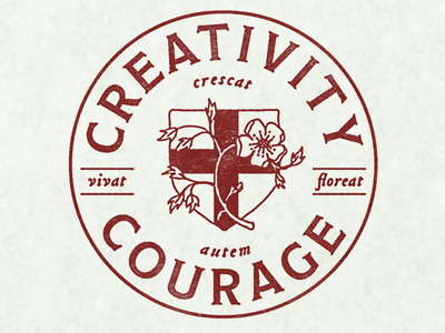 Creativity + Courage Seal