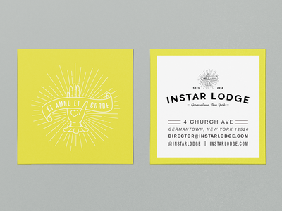 Instar Lodge Business Cards