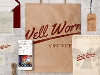 Well Worn Vintage Co. Store Collateral