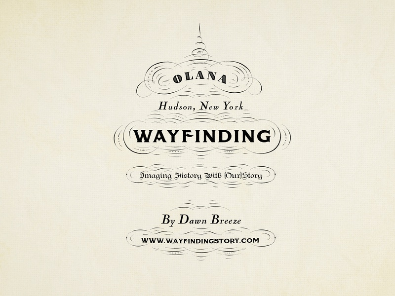 Cover for the Wayfinding Art Exhibition illustration design