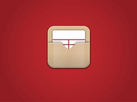 Library card icon