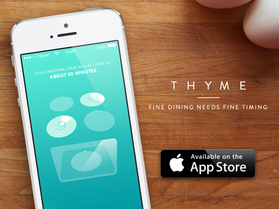 Thyme - Grab it while it´s hot