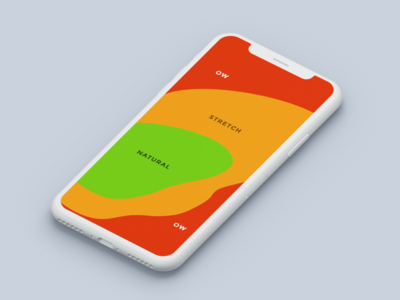 Thumb Zone Heat Map for iPhone X