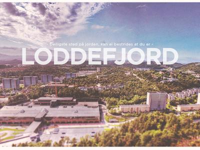 Loddefjord, Bergen loddefjord bergen city poster vadmyra