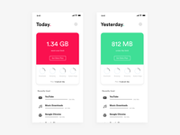 Daily UI Challenge: Day 83 Data Planner App
