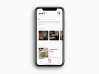 Daily UI Challenge: Day 86 Yelp App Search Page
