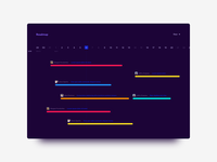 Daily UI Challenge: Day 88 Roadmap View