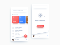 Daily UI Challenge: Day 90 Cloud Storage App