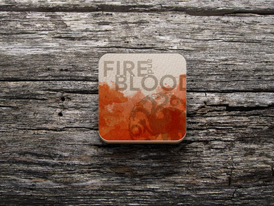 Fire and Blood: Game of Thrones Coaster daenerys targaryen sketch design got gameofthrones fire coaster sticker stickermule