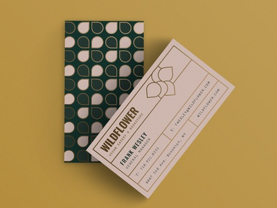 Wildflower Business Cards