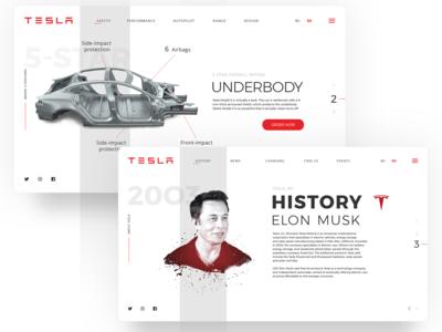 Tesla Models Test Drive