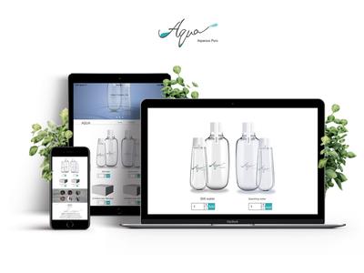 AQUA Branding/UI product ux ui