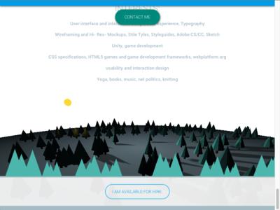 WebGL Animation for Portefolio Website webgl 3d portefolio code html javascript css wood svg