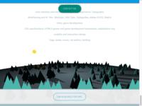WebGL Animation for Portefolio Website