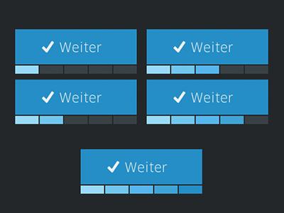 Concept of a next button  form ui metro