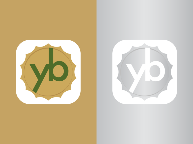 Yogurt business -  Icon android icon icon style brand frozen golden silver business yogurt