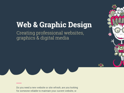 Tazi Website digital media graphic design php design web