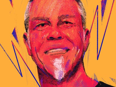 St. Anger portraits people procreate portrait art portrait painting portrait illustration illustrator portrait illustration st anger music metallica