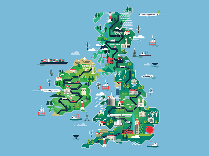 Shortlist Magazine - UK map illustration by Arunas Kacinskas ... on australia illustration, london illustration, singapore illustration, tv illustration, chile illustration, italy illustration, thailand illustration, africa illustration, china illustration, dj illustration,