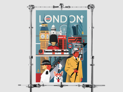 London Poster - The final draft