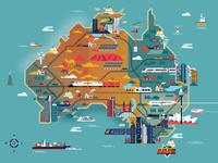 Australia map   clean 01