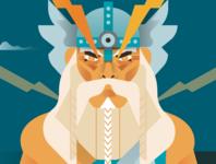 Pagan Gods - Perkunas aka Thunder