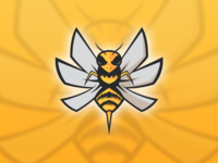 Vitality Bee Version 2 - Mascot Logo Design - NOT OFFICIAL